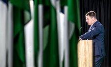 FOTOD | Suurim valitsuspartei Keskerakond pidas kongressi: esimeheks valiti taas ainukesena kandideerinud Jüri Ratas