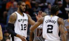 4 PÄEVA NBA HOOAJA ALGUSENI: San Antonio Spursi tagasilöökideta põlvkonnavahetus
