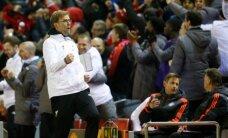 Kloppi Liverpool lõi Euroopa liigas van Gaali Manchester Unitedit kindlalt