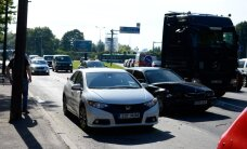 "ФОТО: На перекрестке у ""Русалки"" столкнулись три автомобиля"