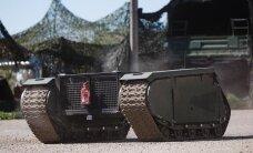 FOTOD ja VIDEO: Kaitseväelased testisid Kevadtormil esimest korda Milremi roomiksõidukit