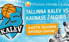 Võida piletid Kalev25 korvpallilahingule!