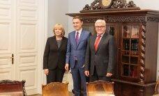 ФОТО DELFI: Рыйвас встретился с министром иностранных дел Германии