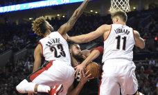 VIDEO: Baltlaste õhtu NBA-s: Valanciunaselt kaksikduubel, Porzingis kahvatu