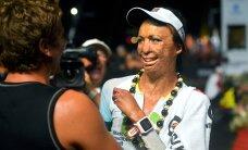 FOTOD: Ultramaratonil üliraske põletuse saanud naine lõpetas Hawaii Ironmani