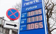 ФОТО: Neste сегодня продает топливо по оптовой цене, другие заправки решили не отставать