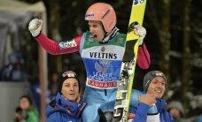 Kartmatu ja tundmatu Stefan Kraft jätkas Austria mäekotkaste edulugu