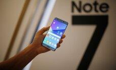 По всему миру остановлены поставки Samsung Galaxy Note 7 из-за взрывов аккумулятора
