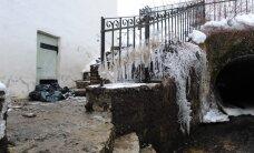 ФОТО: В доме, оказавшемся в опасности из-за разрушения дамбы, проводили приемы Ильвес и Паэт