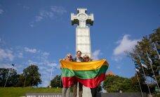 FOTOD | Meenutades Balti ketti. Vabaduse väljakul toimuvad päeva jooksul Balti keti mälestusüritused