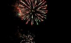 ФОТО: Новогодние фейерверки в Кохтла-Ярве были богаче и красочней