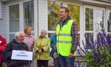 Meeleavaldajatest hoolimata vahetati välja Põhja-Sakala vallavanem