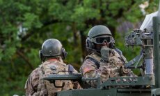 USA sõdurid kaitseväe paraadil