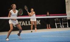 Maileen Nuudi ja Anett Kontaveit paarismängus, Fed Cup