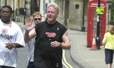 Seks ja tervisesport käisid käsikäes? Raamat: Bill Clinton käis hommikujooksu ajal naisi lantimas