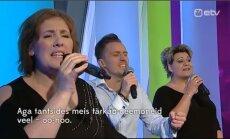 """VIDEO: Tuntud eurolauljad esitasid """"Ringvaates"""" Eurovisioni võidulugu eesti keeles!"""
