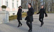 Sotside delegatsioon saabus Kadriorgu tund aega varem, kui oleks pidanud