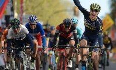 Daryl Impey võidab etapi Alejandro Valverde ees