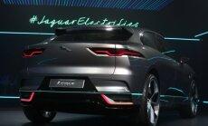 Jaguari elektriauto  I-PACE ideeauto Los Angeleses enne sealse autoshow avamist.