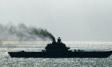 Ta sõidab siiski. Venemaa laevastiku jukerdav lipulaev Admiral Kuznetsov oli reedel Inglise kanalis teel Süüria poole.