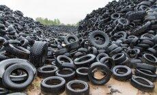 Plats puhtaks! Raadi 14 000 tonni rehvidega hakatakse lõpuks tegelema.