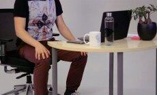 NIPINURK: Füsioterapeut näitab, milliseid harjutusi saab kontorilaua taga teha