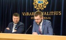 FOTOD ja VIDEO: Ministrid Reinsalu ja Ossinovski tänitasid teineteise kallal avalikult