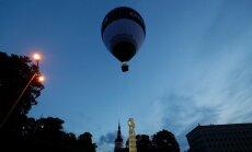 ФОТО И ВИДЕО: На площади Свободы запустили воздушный шар ЭР100