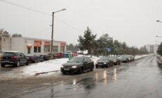 Rehvitöökojad peale esimest lund