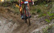 Cyclo-cross. Pilt on illustratiivne
