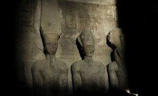 Туристы в Египте увидели