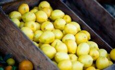 Tahad raudset tervist? Haara poest üks sidrun kaasa!