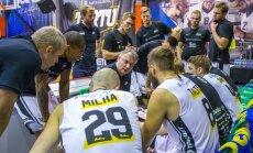 Tartu Ülikooli korvpallimeeskond peab aru