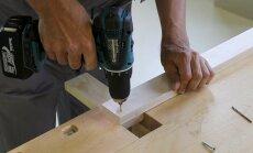 VIDEO | Kasuta akutrelliga töötamisel õigeid töövõtteid, et puitdetaili mitte katki puurida