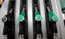 Bensiini ja diisli hind tõuseb