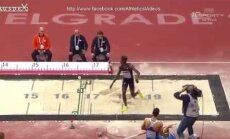 VIDEO: Põrkab kenasti! EM-i kolmikhüppe kvalifikatsiooni võiduks ei piisanud isegi juunioride maailmarekordist