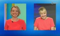 Tohoh! Grete Lõbu ja Astrid Kannel ilmusid üheaegselt ekraanile täpselt sama kleidiga