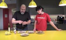 VIDEORETSEPT: Kodumaine gurmee — meritindi  carpaccio  valmib hetkega ja laualt kaob veelgi kiiremini