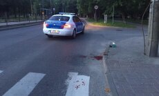 Põhja-Tallinnas Sirbi trammipeatuses olid alkoholi tarvitanud verised mehed