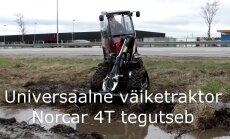 VAATA, kuidas väiketraktor mudas müttab!