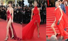 Seksikalt punases! HÄÄLETA, kes kuulsatest modellidest kannab punase kleidi kõige paremini välja