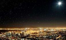 Города, в которых не видны звезды