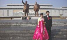 В Северной Корее временно запретили свадьбы и похороны