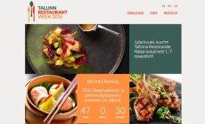 Tallinna Restoranide Nädal tuleb jälle: kokkade parimat saab maitsta tervelt 68 Tallinna parimas einelas ja restoranis