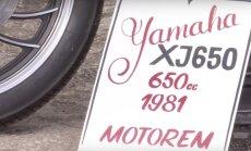 Bike Motors: Yamaha Giuliari - eks talv läbi sai tööd ka tehtud