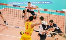 Eesti võrkpallikoondis mängus Makedooniaga
