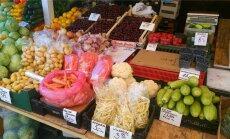 Kodumaiste toodete valik Nõmme turul