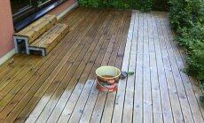 Õli tuleb terrassilaudadele kanda pintsliga ja võimalikult ühtlase kihina.