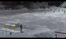 VIDEO: <em>Play-off'iks</em> soodsat vastast noolinud Venemaa jääpallimeeskonnad viskasid üksteise võidu omaväravaid