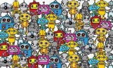 NETIHITT: Piltmõistatus! Mitu sekundit sul kulub, et leida robotite seast üles jõehobu?